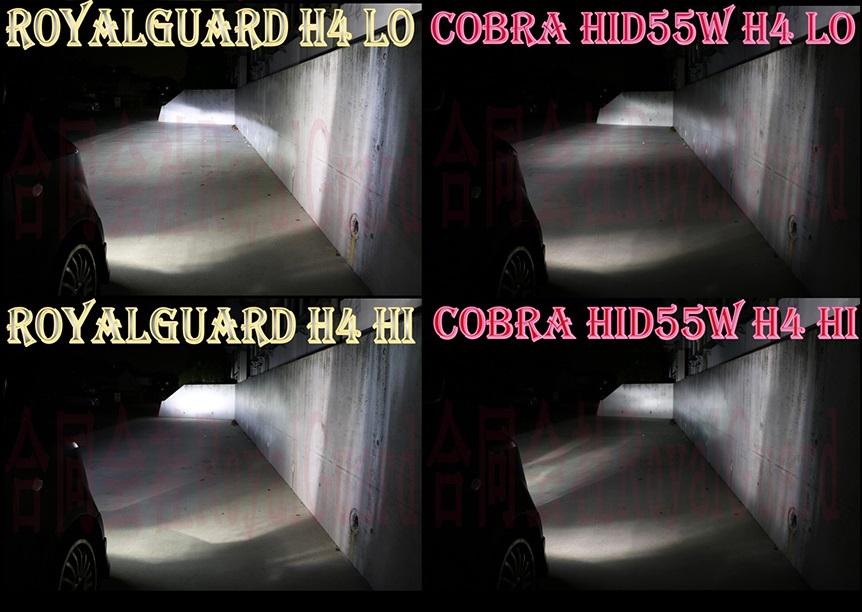 お試し価格! LED史上最高照射距離! RoyalGuardPremium LED 16000LM 相当 6000k H4 HI/Lo H8 H9 H11 H16 HB3 HB4 車検対応 ※納期約1週間